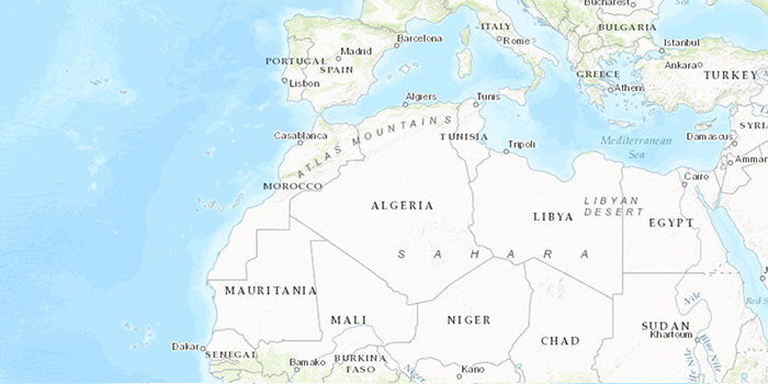 Map Africa Stories Technical Assistance To Launch Algeria S